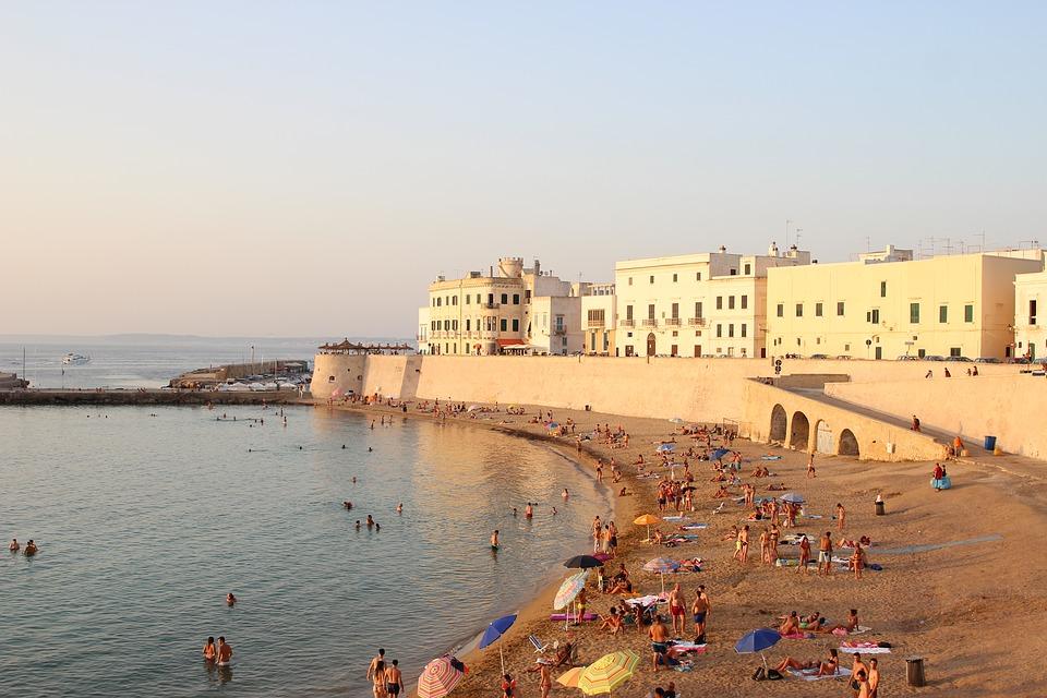 Apulien Karte Strände.ᐅ Die Schönsten Strände Apuliens Unsere Favoriten